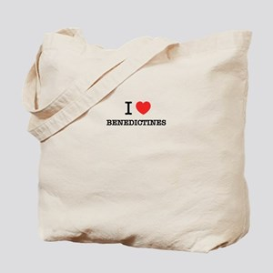 I Love BENEDICTINES Tote Bag