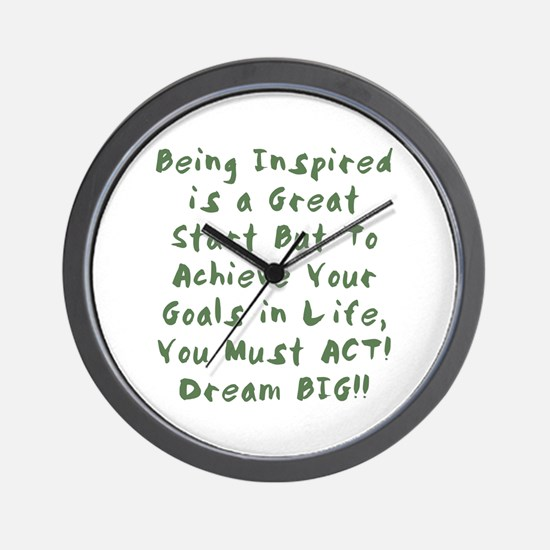 You Must ACT! Wall Clock
