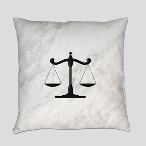 Scales of Justice Everyday Pillow