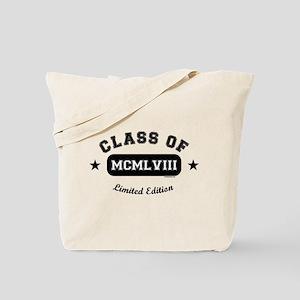 Class of 1958 Tote Bag
