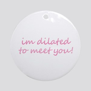 Dilated Round Ornament