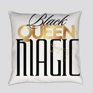 Black Queen Magic Everyday Pillow