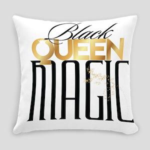 Black Queen Magic Everyday Pillow