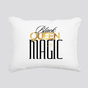 Black Queen Magic Rectangular Canvas Pillow