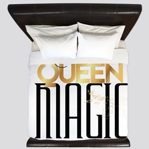 Black Queen Magic King Duvet