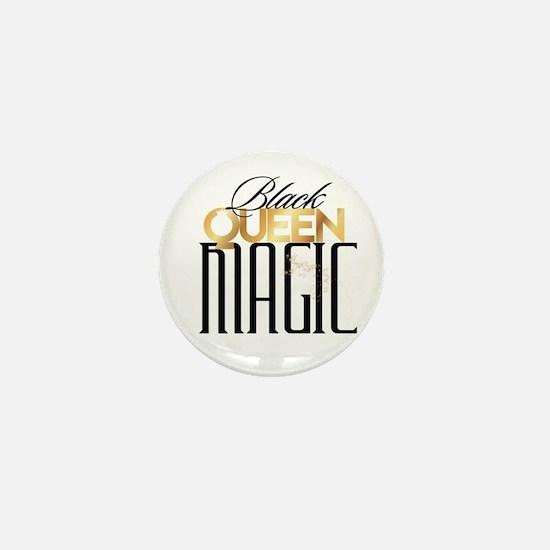 Black Queen Magic Mini Button