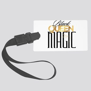 Black Queen Magic Luggage Tag
