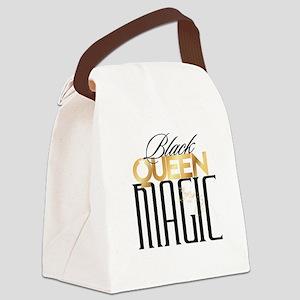 Black Queen Magic Canvas Lunch Bag