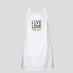 Live Love Reiki BBQ Apron