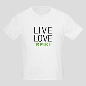 Live Love Reiki Kids Light T-Shirt