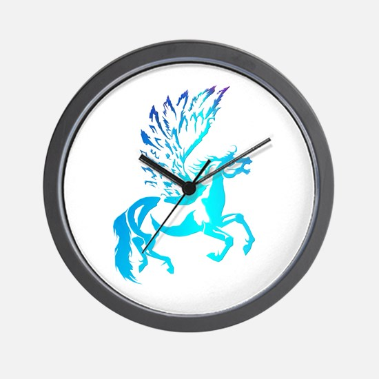 Simple Pegasus Wall Clock