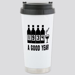 1934 A Good Year, 16 oz Stainless Steel Travel Mug