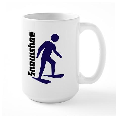Snowshoe Large Mug