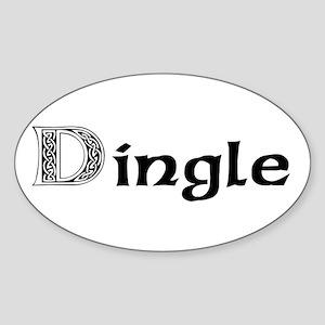 Dingle Oval Sticker