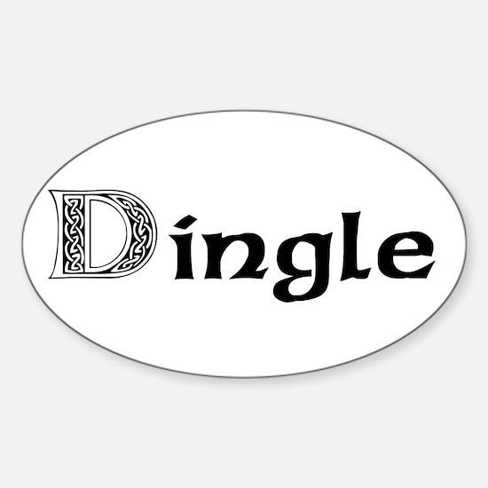 Dingle Oval Decal