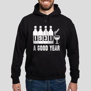 1931 A Good Year, Cheers Hoodie (dark)