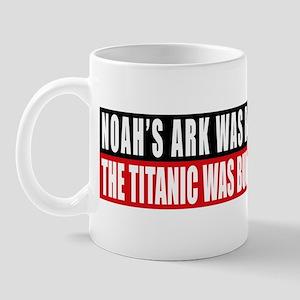 Noah's Ark/Titanic Mug