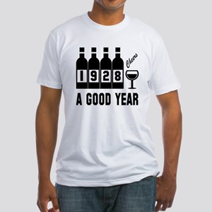 1928 A Good Year, Cheers Fitted T-Shirt