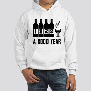 1928 A Good Year, Cheers Hooded Sweatshirt