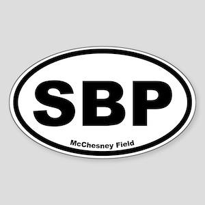 McChesney Field Oval Sticker
