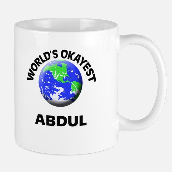 World's Okayest Abdul Mugs