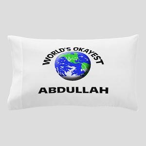 World's Okayest Abdullah Pillow Case