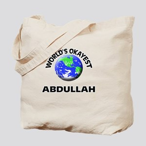 World's Okayest Abdullah Tote Bag