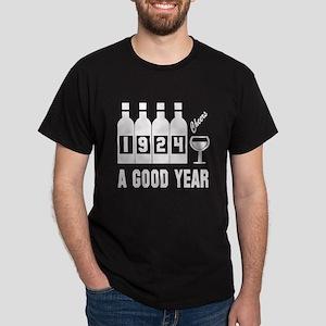 1924 A Good Year, Cheers Dark T-Shirt