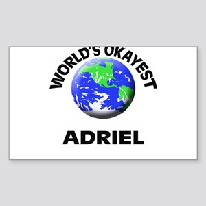 World's Okayest Adriel Sticker