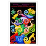 Large Poster<br>Rubin's Spirals