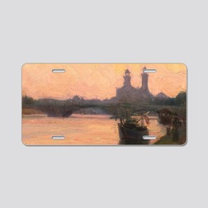 The Seine: painting by Henry Ossawa Tanner Aluminu