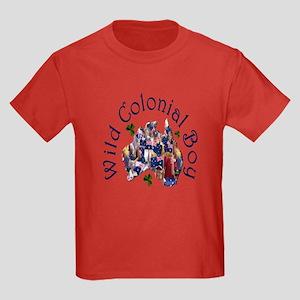 Aussie Wild Colonial Boy Kids Dark T-Shirt