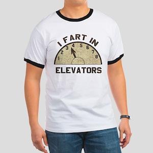 I Fart In Elevators Ringer T