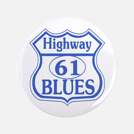 """Highway 61 Blues 3.5"""" Button"""