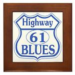Highway 61 Blues Framed Tile