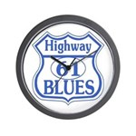 Highway 61 Blues Wall Clock