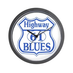 Highway 61 Blues Wall Clock