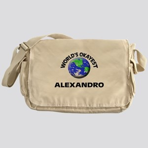 World's Okayest Alexandro Messenger Bag