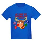 Christmas I want my Sailor Kids Dark T-Shirt