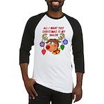 Christmas I want my Sailor Baseball Jersey