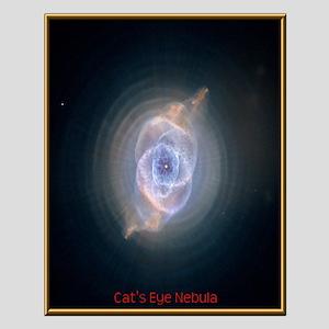 Catseye Nebula Small Poster