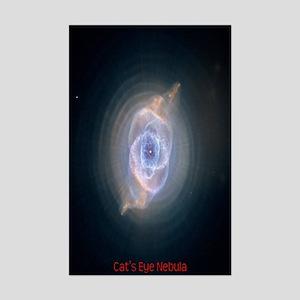 Catseye Nebula Mini Poster Print