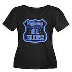 Highway 61 Blues Women's Plus Size Scoop Neck Dark