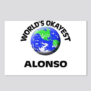 World's Okayest Alonso Postcards (Package of 8)