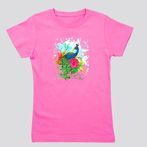 Peacock Girl's Tee