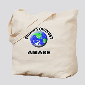 World's Okayest Amare Tote Bag