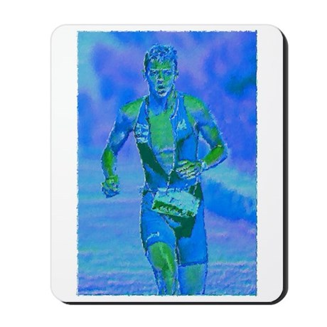 LOOKING STRONG PAINTING Mousepad
