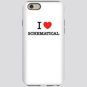 I Love SCHEMATICAL iPhone 6/6s Tough Case