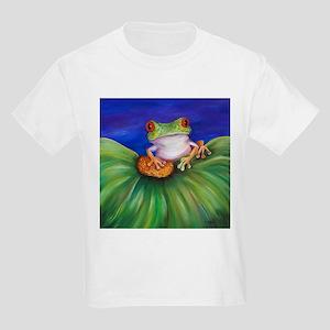 Red Eyed Tree Frog Kids Light T-Shirt