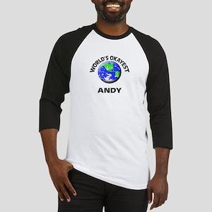 World's Okayest Andy Baseball Jersey